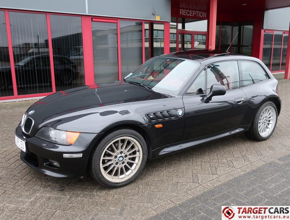 BMW Z3 COUPE 2.8L 193HP AUT E36 03-00 BLACK 58416KM LHD
