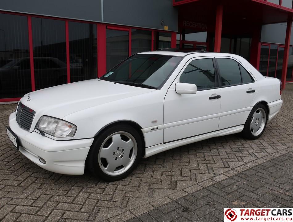 MERCEDES C43 AMG 4.3L V8 306HP AUT 11-98 WHITE 97001KM LHD