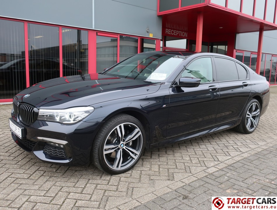 BMW 730D SEDAN G11 M-SPORT AUT 265HP 03-16 BLACK 65579MIL RHD
