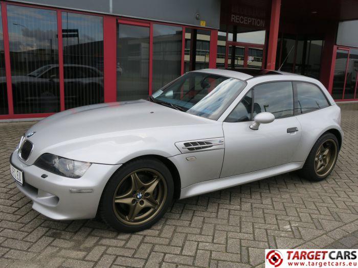 BMW Z3M M COUPE 3.2L 325HP S54 M-COUPE 06-02 SILVER 167509KM LHD