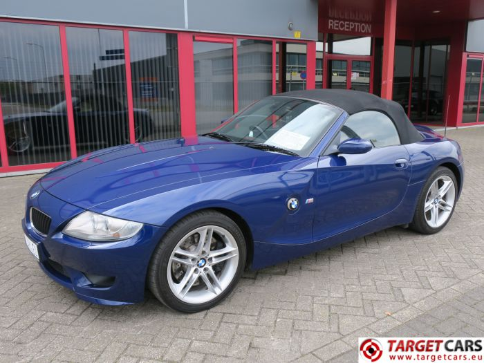 BMW Z4M ROADSTER Z4 M CABRIO 3.2L 343HP S54 07-06 BLUE 91376MIL RHD