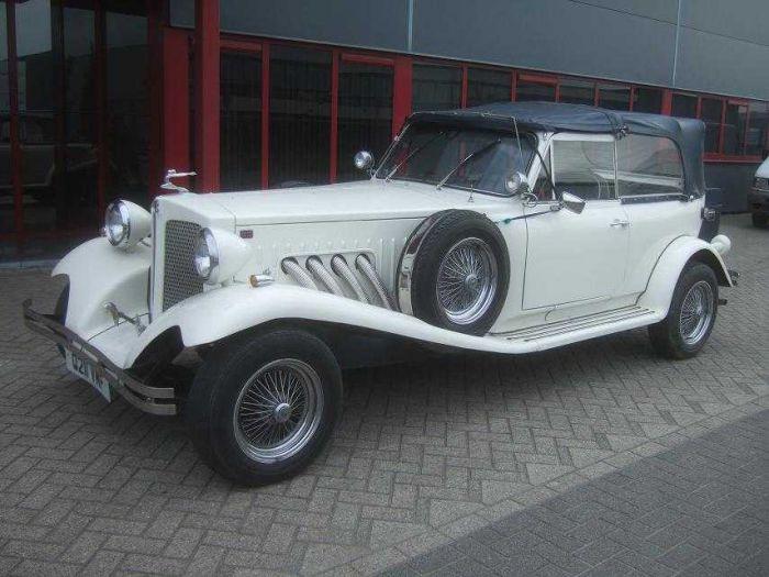 BEAUFORD OPEN TOURER 2.3L V6 10-90 WHITE 14251M