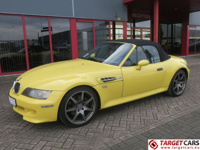 BMW Z3M CABRIO 3.2L 321HP S50 M-ROADSTER 10-98 YELLOW 103122KM LHD