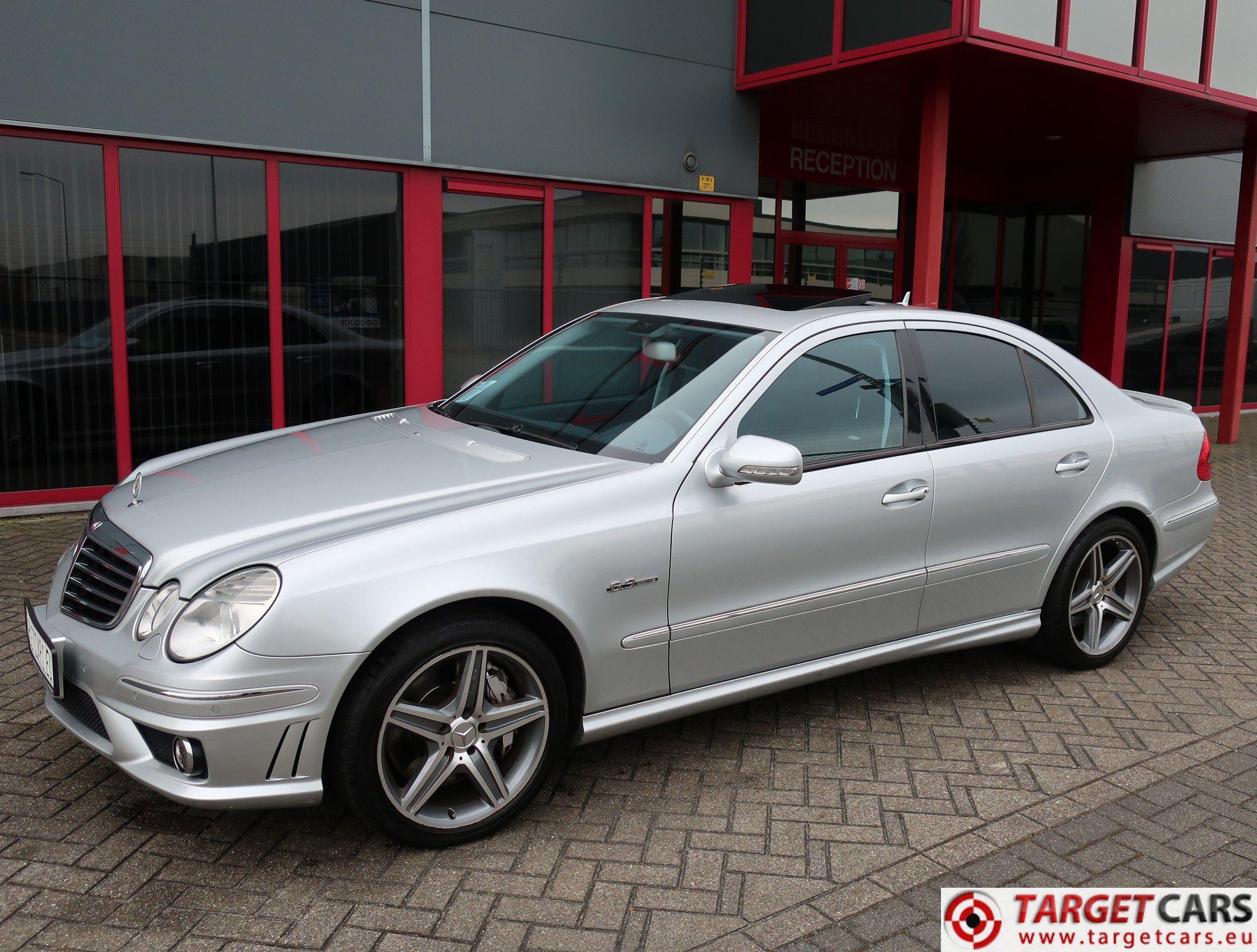 Mercedes E63 Amg >> Mercedes E63 Amg V8 514hp Aut 04 07 Silver 123597km Lhd