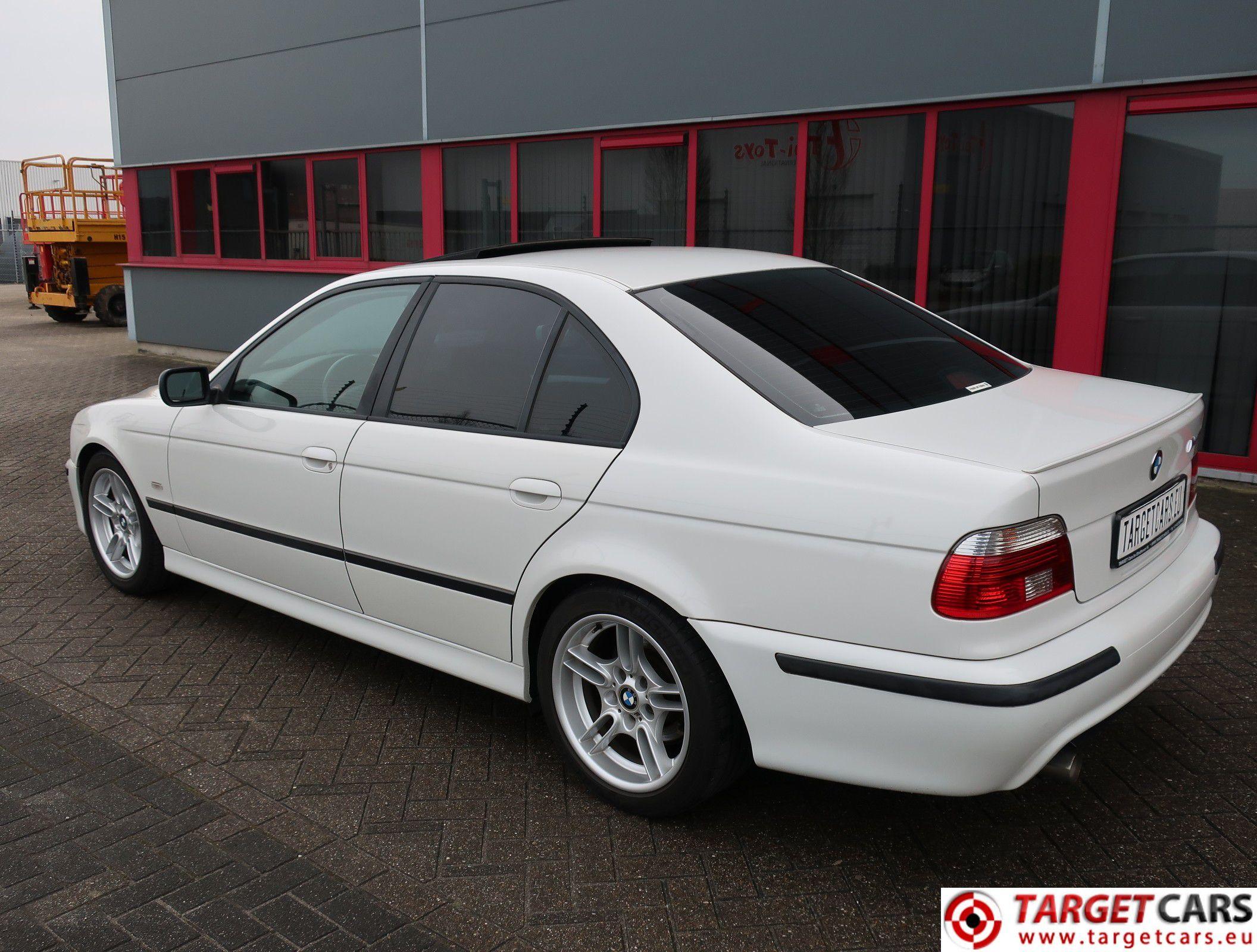 BMW 525I E39 SEDAN 2 5L 192HP AUT M-SPORT 03-01 WHITE 119394KM LHD