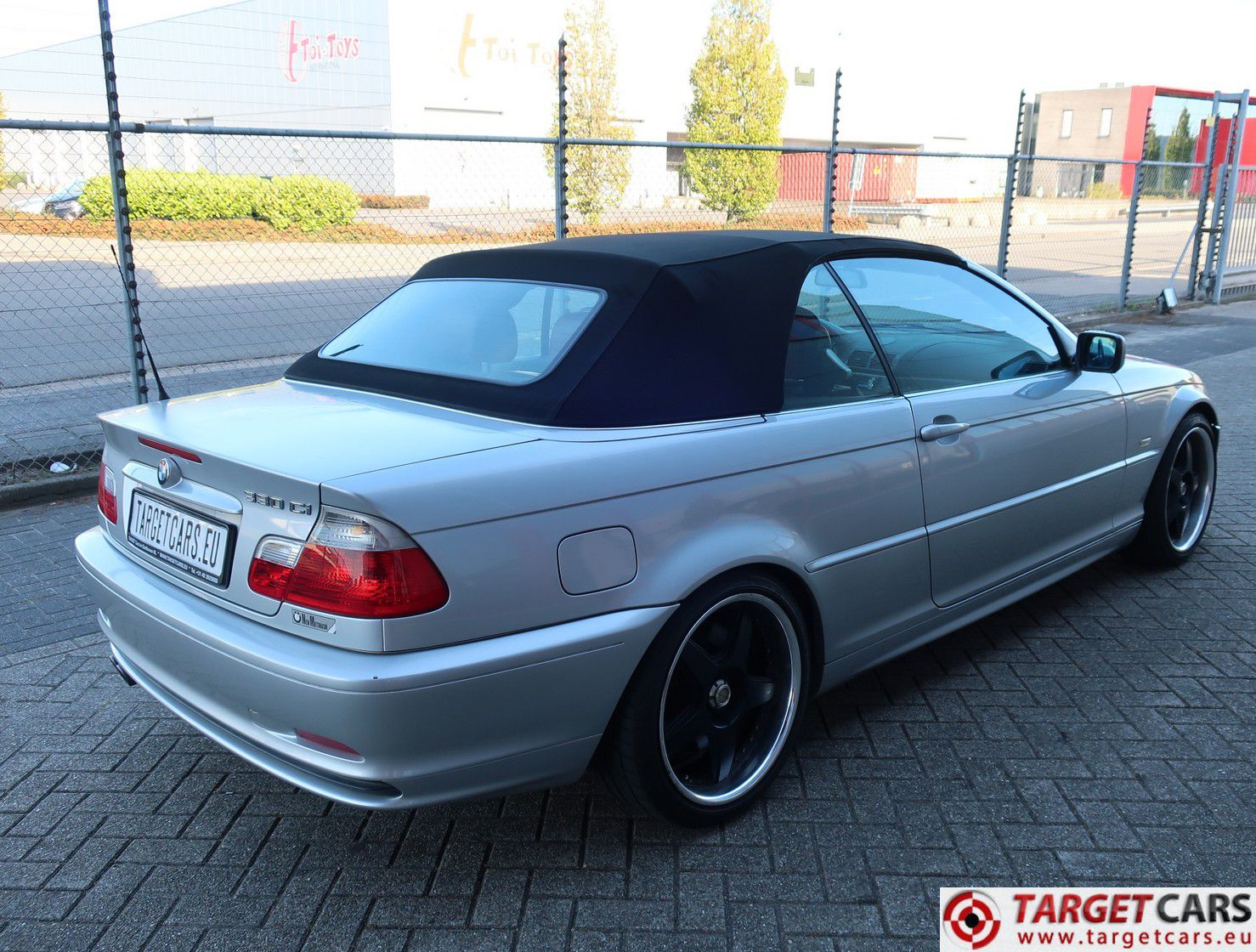 bmw 330ci 3 0l 231hp e46 cabrio aut 11 02 silver 69419km lhd. Black Bedroom Furniture Sets. Home Design Ideas