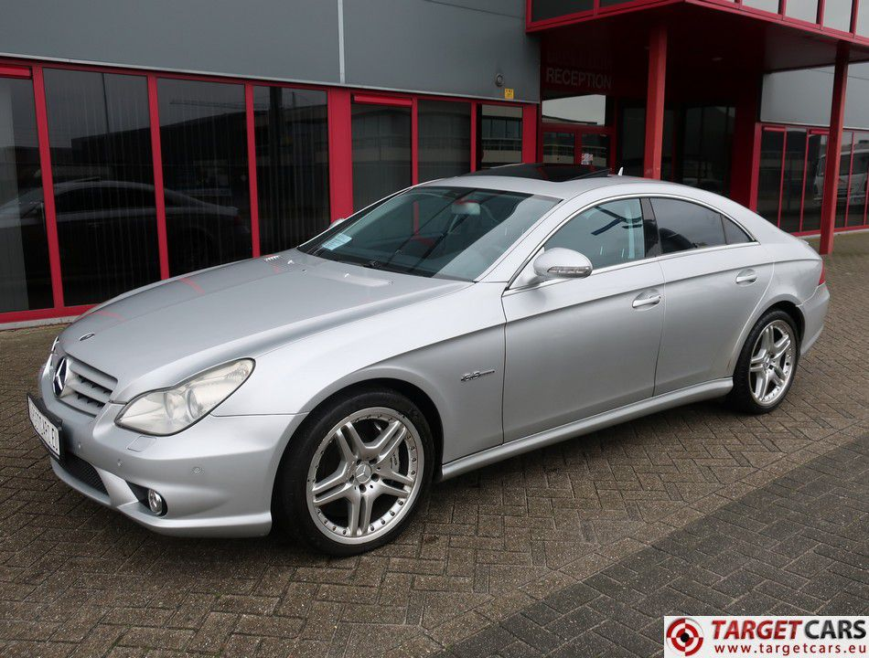 MERCEDES CLS63 AMG COUPE CLS63AMG SEDAN 62L V8 514HP AUT 06 07 SILVER 94938KM LHD