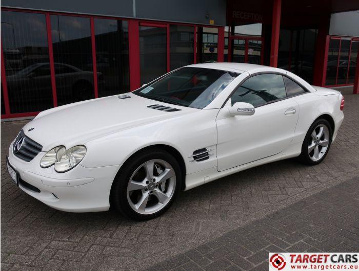 MERCEDES SL600 ROADSTER R230 5.5L V12 500HP BI-TURBO AUT 07-03 WHITE 89125KM LHD