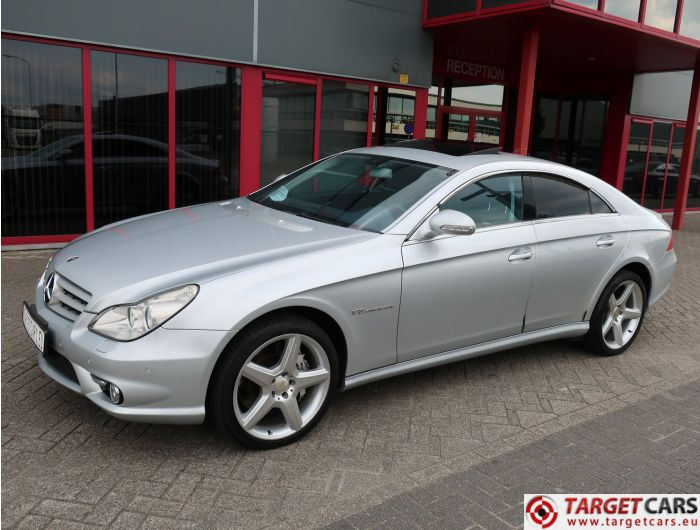 MERCEDES CLS55 AMG COUPE SEDAN 5.4L V8 476HP AUT 08-05 SILVER 60877KM LHD