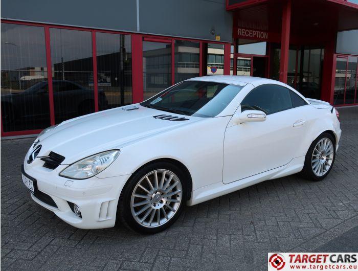 MERCEDES SLK55 AMG 5.4L V8 360HP AUT 08-06 WHITE 125144KM LHD