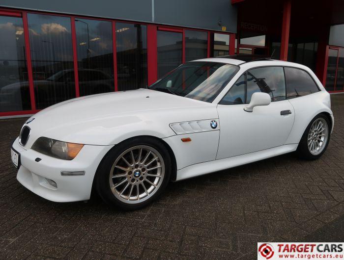 BMW Z3 COUPE 2.8L 193HP AUT E36 08-99 WHITE 101160KM LHD