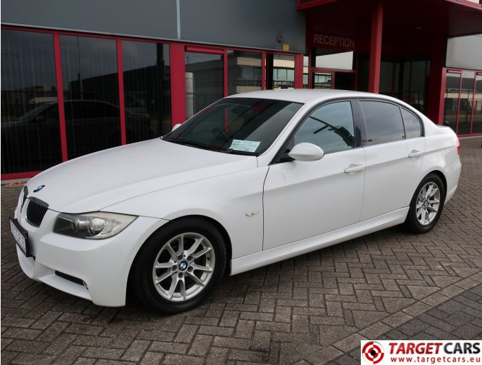 BMW 323I E90 SEDAN 2.5L M-SPORT 177HP 03-06 WHITE 79190KM RHD