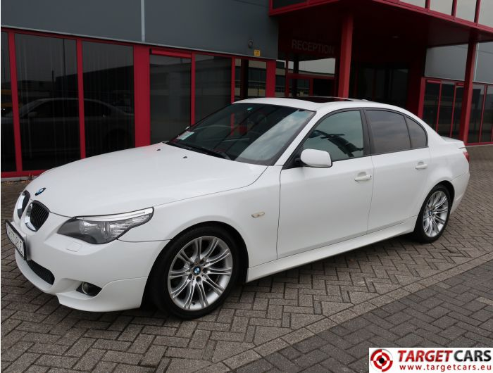BMW 525I E60 SEDAN 2.5L M-SPORT 218HP 07-08 WHITE 89324KM LHD
