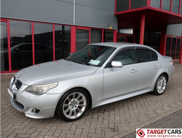 BMW 525I E60 SEDAN 2.5L M-SPORT 192HP 11-04 SILVER 62091KM RHD