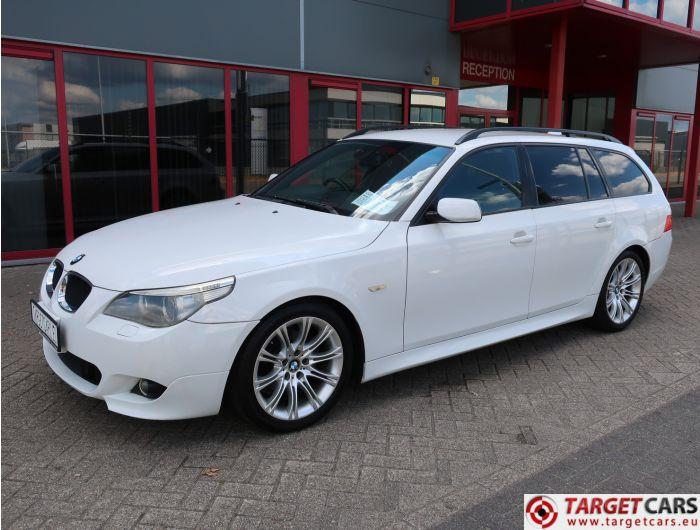 BMW 525I E61 TOURING 2.5L M-SPORT 192HP 01-05 WHITE 76205KM RHD