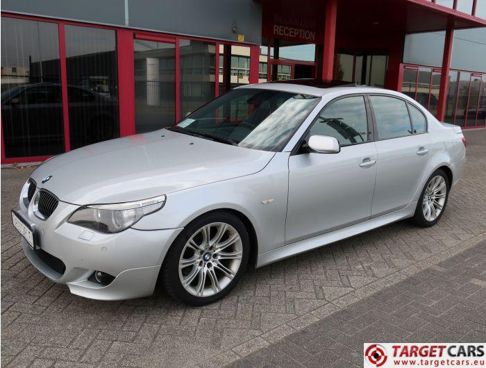 BMW 545I E60 SEDAN 4.4L V8 M-SPORT 333HP 06-05 SILVER 111017KM LHD