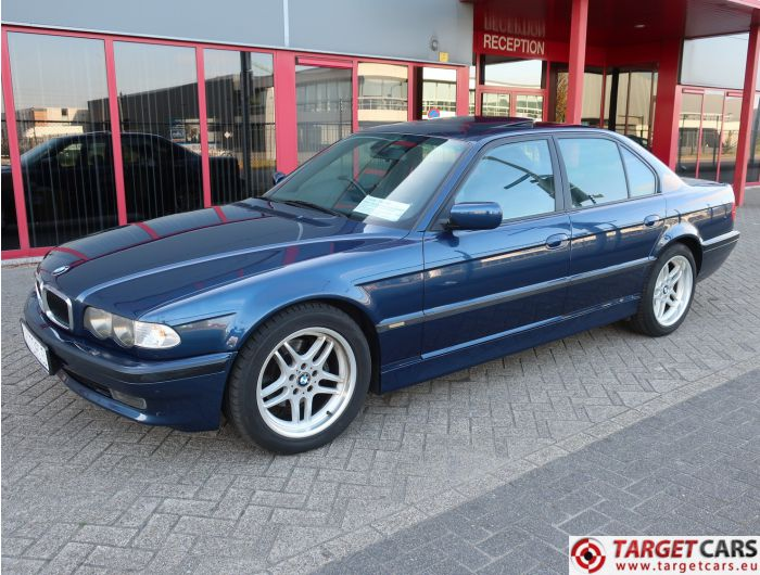 BMW 735I E38 SEDAN 3.5L 238HP AUT M-SPORT 05-01 BLUE 64354KM RHD
