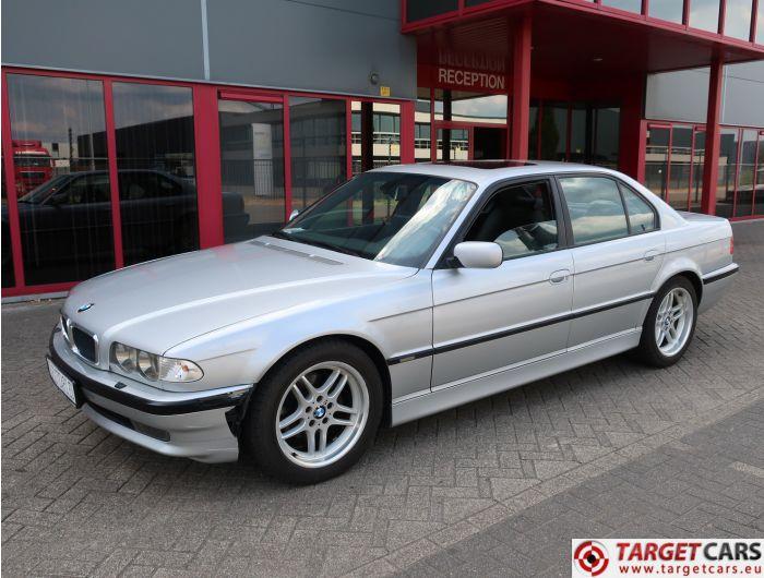 BMW 735I E38 SEDAN 3.5L 238HP AUT M-SPORT 12-00 SILVER 123993KM LHD