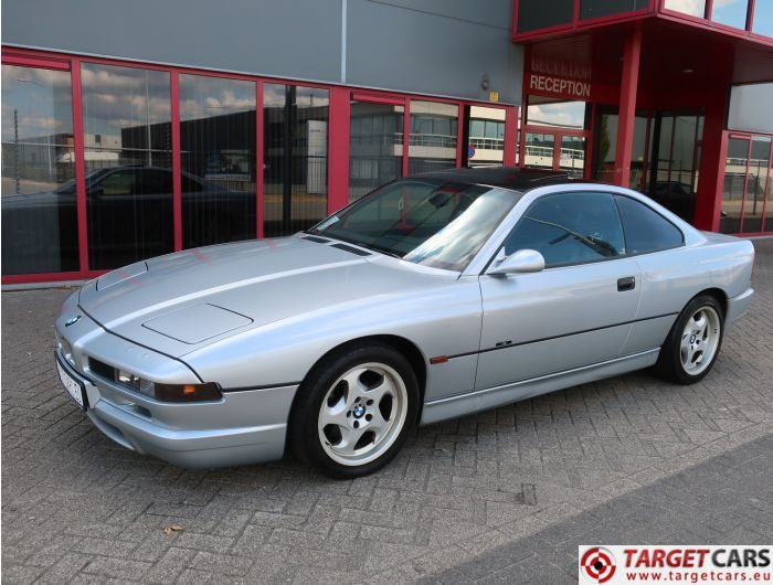 BMW 840CI E31 COUPE AUT M-INDIVIDUAL SELECTION JAPAN 4.4L 06-1997 SILVER 286HP 89675KM LHD