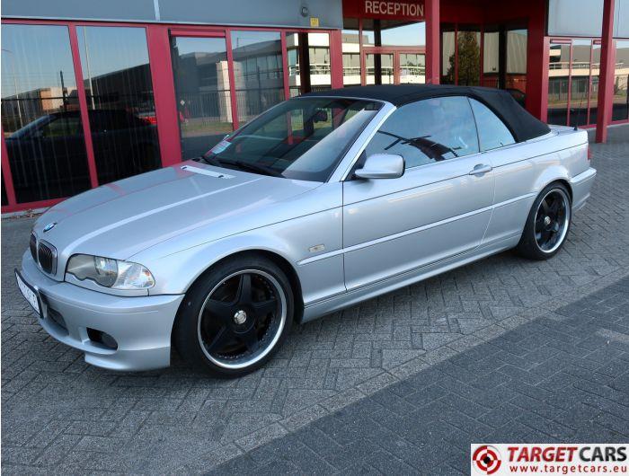 BMW 330CI 3.0L 231HP E46 CABRIO AUT 11-02 SILVER 69419KM LHD