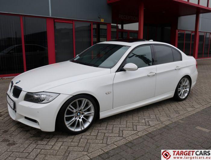 BMW 335I E90 SEDAN M-SPORT 3.0L 306HP 10-07 WHITE 104627KM LHD