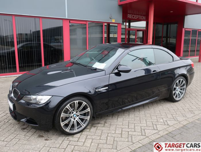 BMW M3 E93 CABRIO 4.0L V8 420HP M-DCT DRIVELOGIC 04-08 BLACK 44270MIL RHD