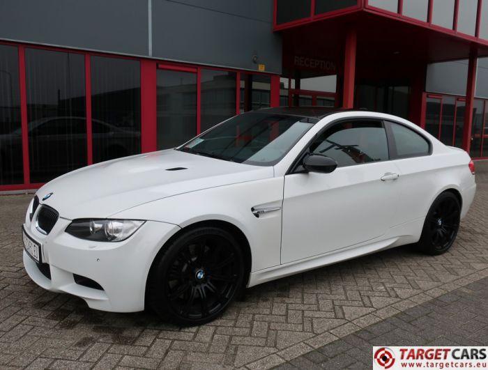 BMW M3 E92 COUPE 4.0L V8 420HP M-DCT WHITE 07-08 68615KM LHD