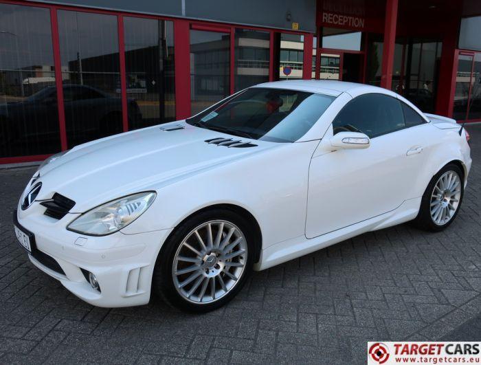 MERCEDES SLK55 AMG 5.4L V8 360HP AUT 08-06 WHITE 124852KM LHD