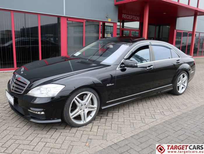 MERCEDES S63 L AMG LONG V221 SEDAN 6.2L V8 525HP AUT 11-07 BLACK 99559KM LHD