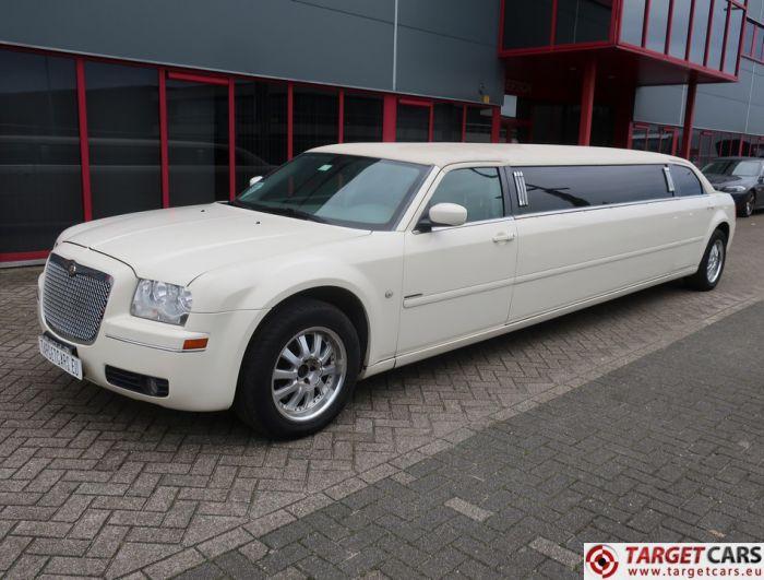 CHRYSLER 300C LIMOUSINE 120INCH  LIMO STRETCH 790CM 2007 WHITE 93439M J-SEAT LHD KRYSTAL KOACH