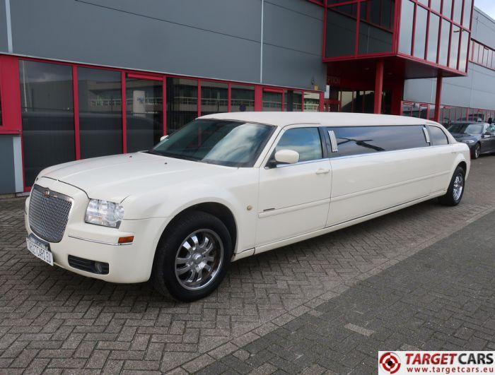 CHRYSLER 300C LIMOUSINE 120INCH LIMO STRETCH 790CM 12-2006 WHITE 48513M J-SEAT LHD KRYSTAL KOACH