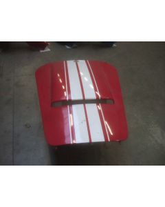 AC COBRA BONNET RED/WHITE