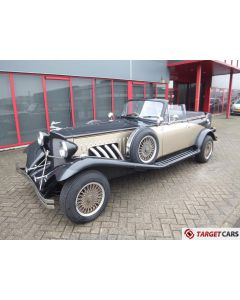 BEAUFORD OPEN TOURER 3.5L V8 09-79 BLACK 6480MILES