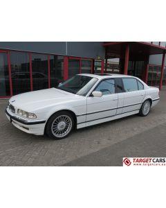 BMW 750IXL L7 EXTRA LONG E38 LIMOUSINE 5.4L V12 326HP 12-97 WHITE 124841KM LHD