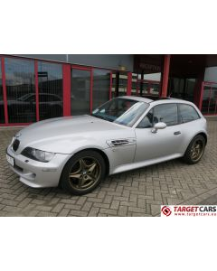 BMW Z3M M COUPE 3.2L 325HP S54 M-COUPE 06-02 SILVER 167509KM LHD