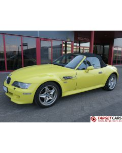 BMW Z3M CABRIO 3.2L 321HP S50 M-ROADSTER 06-01 YELLOW 105284KM LHD