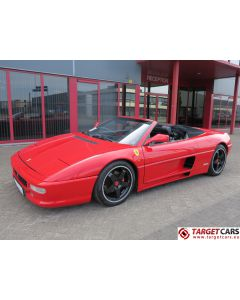 FERRARI 348 SPIDER 3.4L V8 MANUAL 320HP 04-1994 62265KM RED LHD
