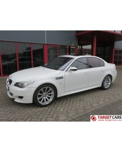 BMW M5 E60 SEDAN SMG 5.0L V10 507HP E60 09-05 WHITE 63516KM LHD