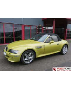 BMW Z3M CABRIO 3.2L 325HP S54 M-ROADSTER 06-01 YELLOW 132197KM LHD