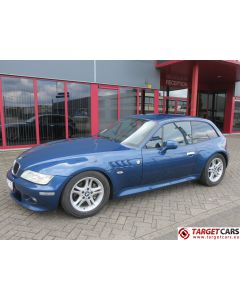 BMW Z3 COUPE 2.8L 193HP AUT E36 09-00 BLUE 111434KM LHD
