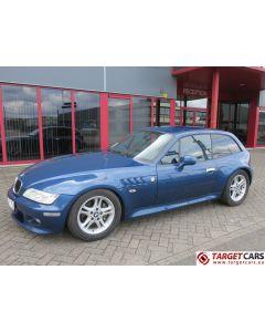 BMW Z3 COUPE 2.8L 193HP AUT E36 09-00 BLUE 111434KM LHD