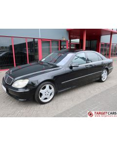 MERCEDES S55L AMG LONG SEDAN 5.0L V8 360HP AUT 06-01 BLACK 97597KM LHD