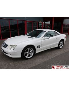 MERCEDES SL600 ROADSTER R230 5.5L V12 500HP BI-TURBO AUT 07-03 WHITE 89125KM LHD