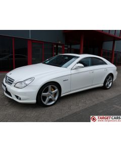 MERCEDES CLS55 AMG COUPE SEDAN 5.4L V8 476HP AUT 08-05 WHITE 81887KM LHD