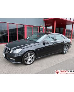 MERCEDES E63 AMG SEDAN W212 6.2L V8 525HP AUT 08-10 BLACK 102392KM LHD