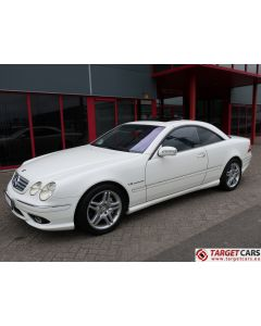 MERCEDES CL55 AMG COUPE 5.4L V8 500HP KOMPRESSOR AUT 12-03 WHITE 75160KM LHD