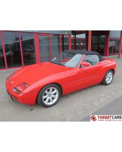 BMW Z1 ROADSTER CABRIO 2.5L 10-90 RED 167058KM LHD