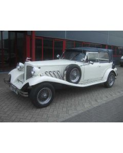 BEAUFORD OPEN TOURER 2.3L V6 10-90 WHITE 14251M