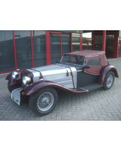 BURLINGTON ROADSTER 1.3L 04-84 13195MIL MAROON