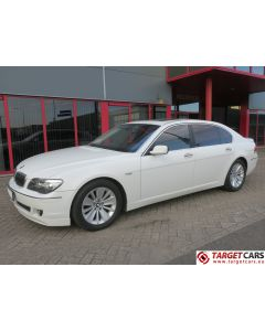 BMW 750LI LONG E66 LIMOUSINE 4.8L V8 367HP 05-05 WHITE 72393KM LHD